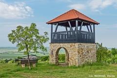 Weinbergturm in Bornheim als HDR